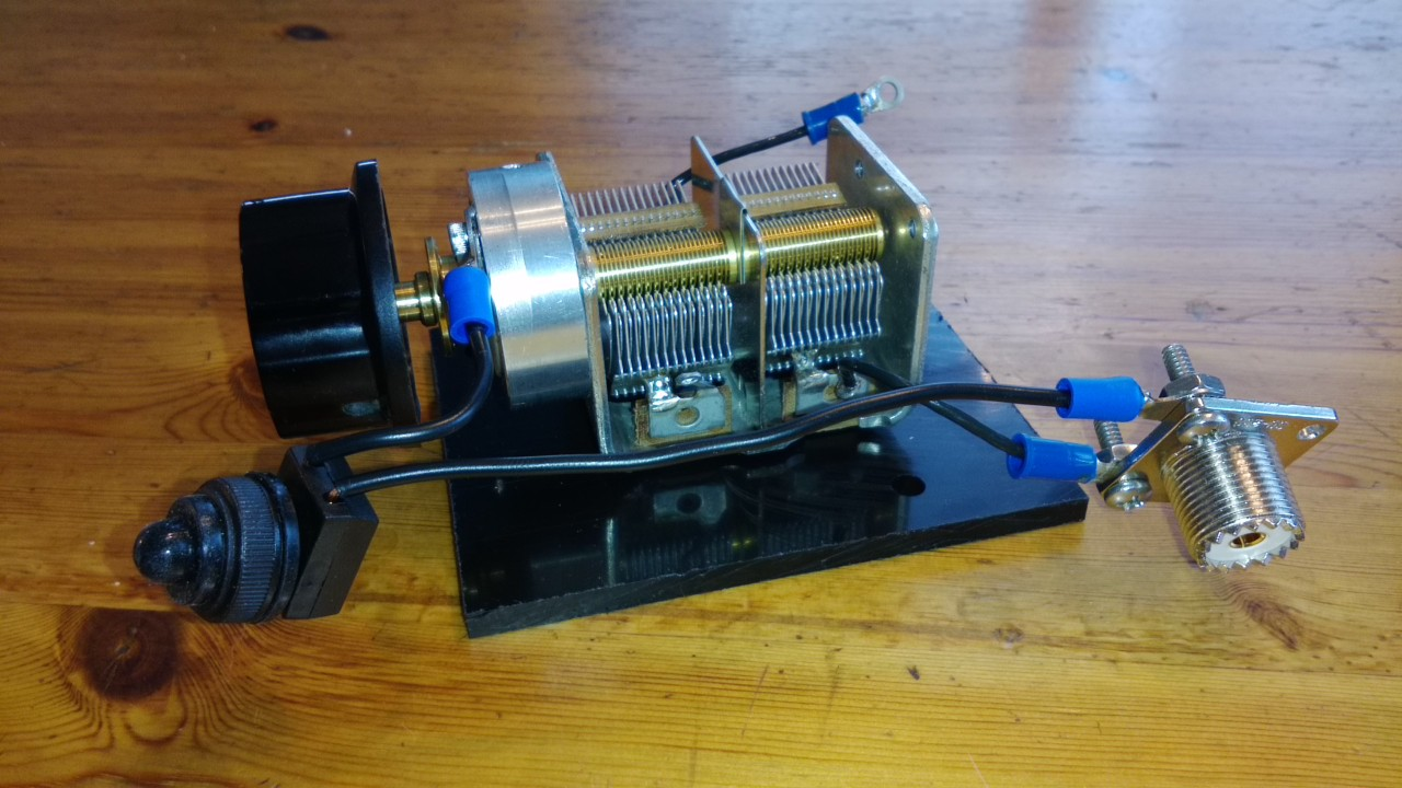 DIY Man Portable Magnetic Loop Antenna – OH8STN