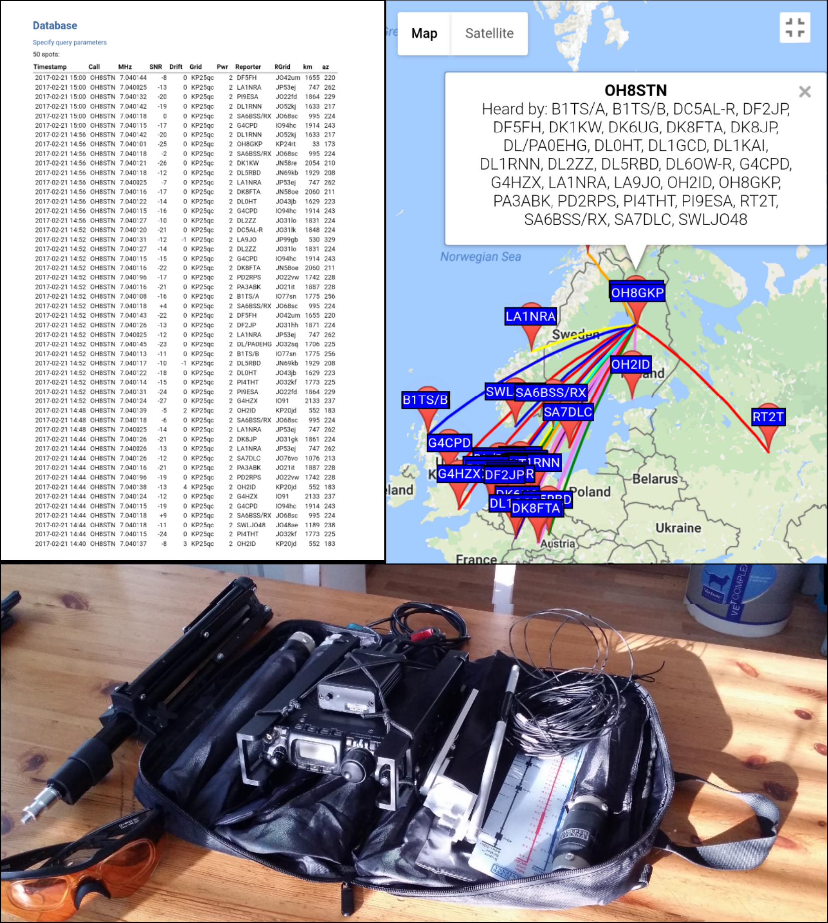 WSPR Field Testing the Super Antenna MP1DXMAX – OH8STN