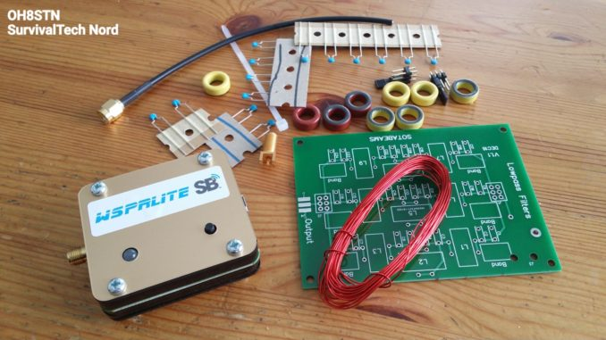 Low Pass Filter kit for the WSPRLite – OH8STN