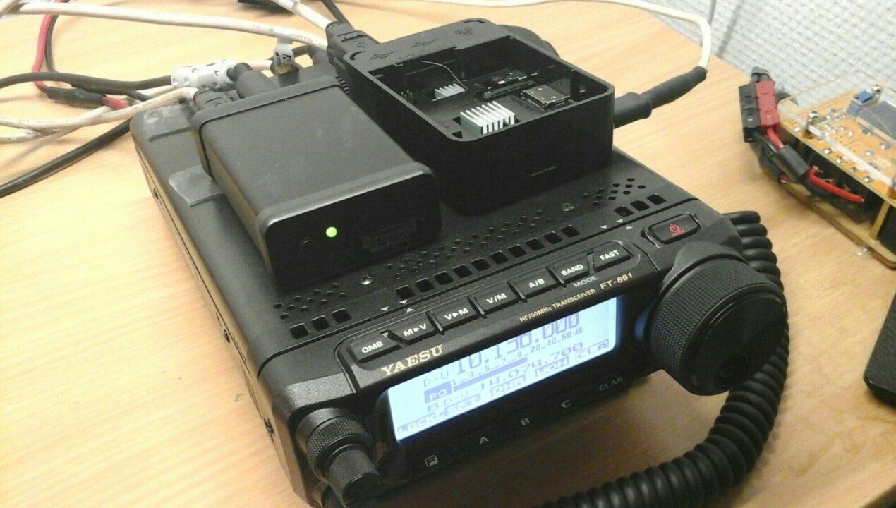 Raspberry Pi Powered Yaesu FT-891 WSJT-X FT8 – OH8STN