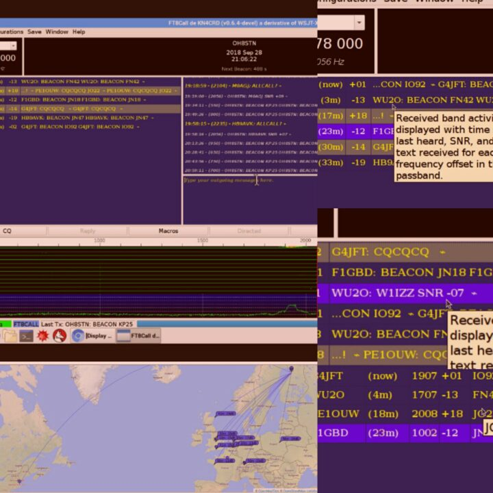 40 Meters JS8Call FT8Call – OH8STN
