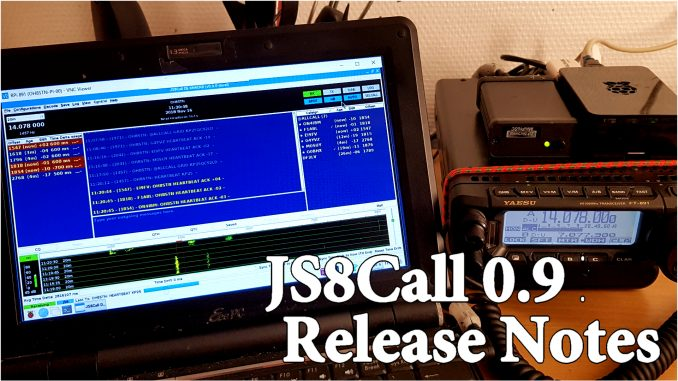 JS8Call 0 9 Release notes – OH8STN