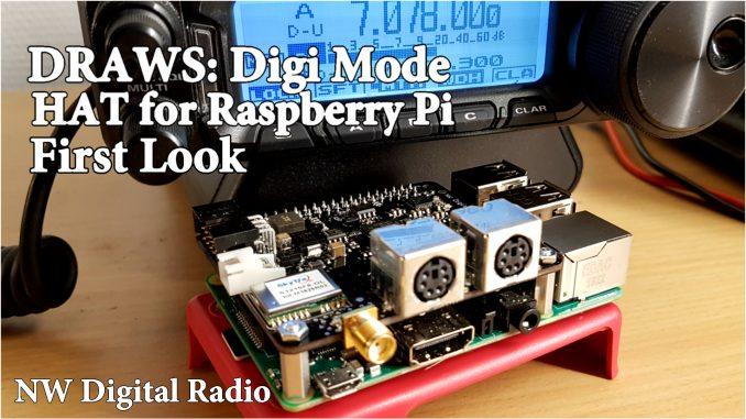 Digi Mode Ham Radio Hat for Raspberry Pi – OH8STN